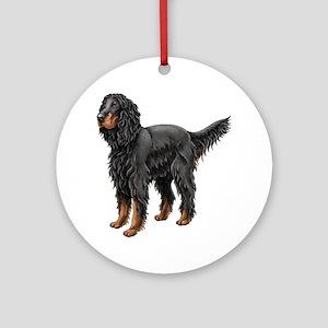 Gordon Setter Ornament (Round)