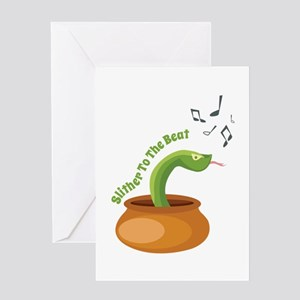 To The Beat Greeting Cards