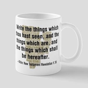 Write The Things Mug