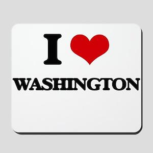 I love Washington Mousepad