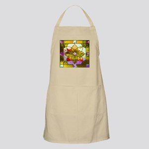 Harvest Gold Stained Glass Apron