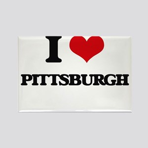 I love Pittsburgh Magnets
