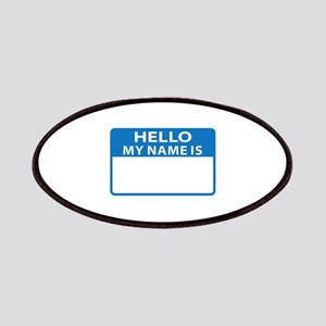 NAME DROP NAME TAG Patches