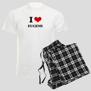 I love Eugene Men's Light Pajamas