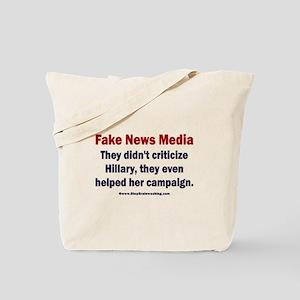 Hillary's Fake News Media Tote Bag