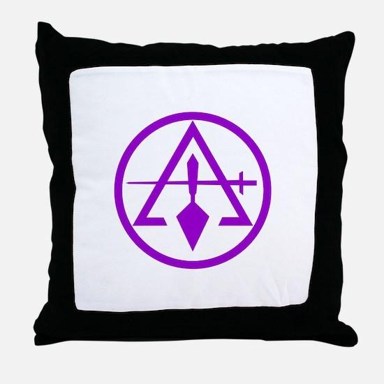 ROYAL AND SELECT MASTERS CIRCULAR Throw Pillow