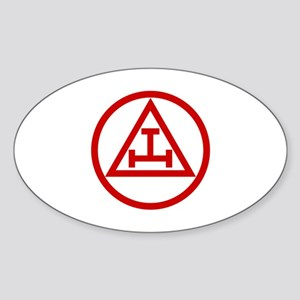 ROYAL ARCH MASONS CIRCULAR Sticker