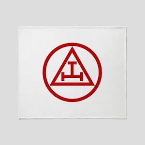 ROYAL ARCH MASONS CIRCULAR Throw Blanket