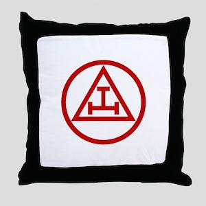 ROYAL ARCH MASONS CIRCULAR Throw Pillow