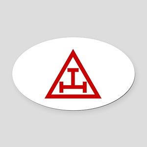 ROYAL ARCH MASONS Oval Car Magnet