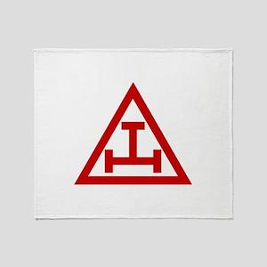 ROYAL ARCH MASONS Throw Blanket