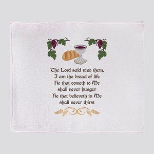 BREAD OF LIFE Throw Blanket