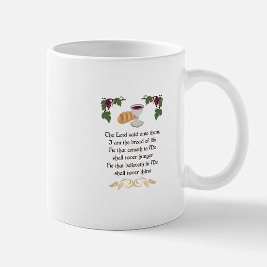 BREAD OF LIFE Mugs