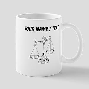 Custom Scale Of Justice Mugs