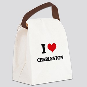 I love Charleston Canvas Lunch Bag