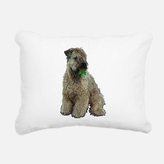 Cute Wheaten terriers Rectangular Canvas Pillow