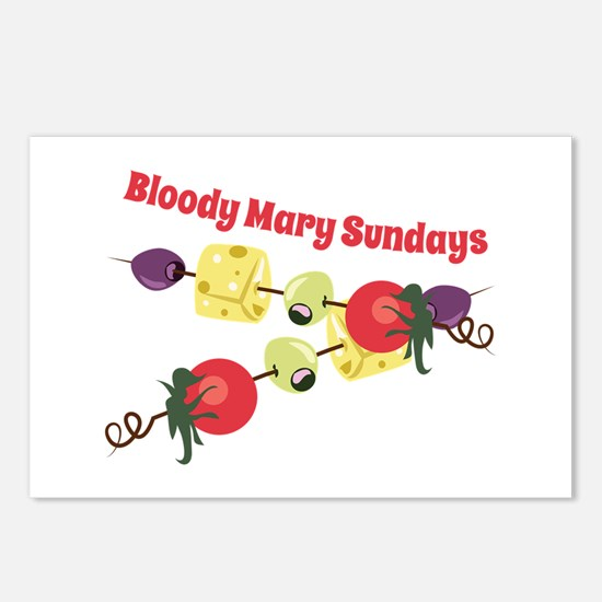 Bloody Mary Sundays Postcards (Package of 8)