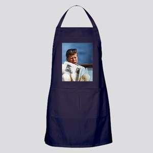 JFK Smoking Apron (dark)