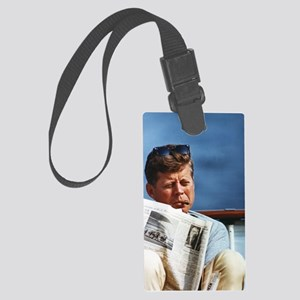 JFK Smoking Large Luggage Tag
