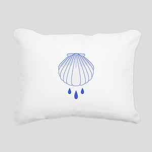 BAPTISM SHELL Rectangular Canvas Pillow