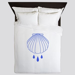 BAPTISM SHELL Queen Duvet