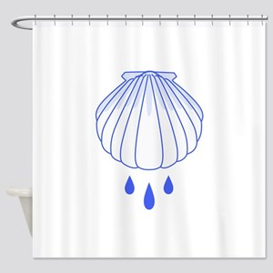 BAPTISM SHELL Shower Curtain
