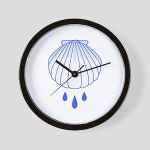 BAPTISM SHELL Wall Clock