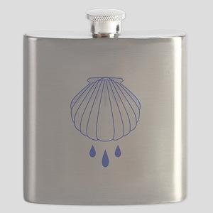 BAPTISM SHELL Flask