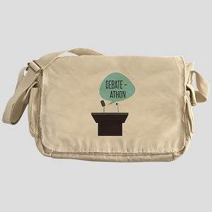 Debate-Athon Messenger Bag