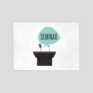 Seminar 5'x7'Area Rug