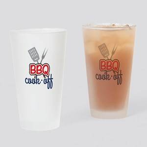 BBQ Cook-Off Drinking Glass