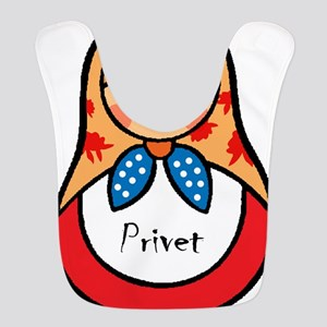 Matryoshka Russian Wooden Doll Bib