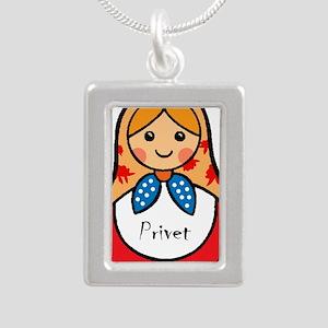 Matryoshka Russian Wooden Doll Necklaces