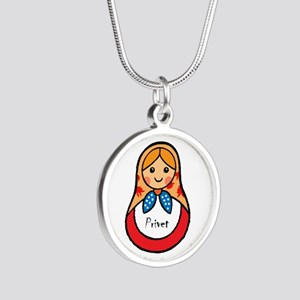 Matryoshka Russian Wooden Doll Necklaces