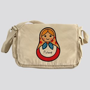 Matryoshka Russian Wooden Doll Messenger Bag