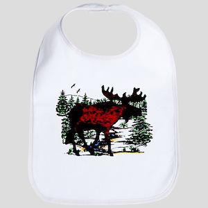 North Woods Moose  Bib