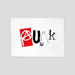 Punk 5'x7'Area Rug