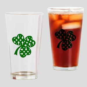 CELTIC CLOVER Drinking Glass