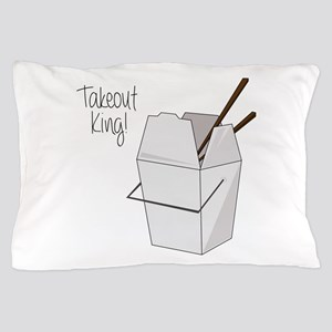 Takeout King! Pillow Case