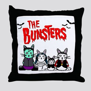 Bunsters Throw Pillow