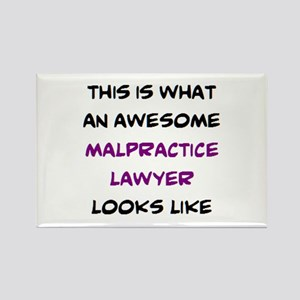 awesome malpractice lawyer Rectangle Magnet