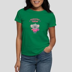 Cute Pun Koala Bear Koalafied Teacher T-Shirt