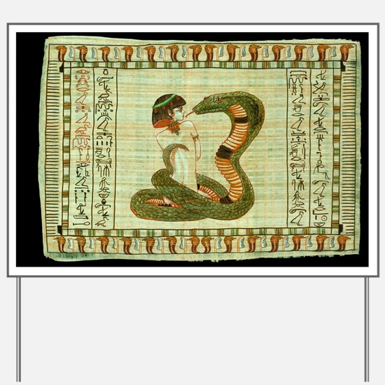 Cleopatra 10 Yard Sign