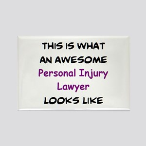 awesome personal injury lawyer Rectangle Magnet