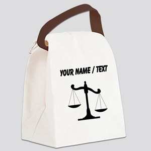 Custom Scale Of Justice Canvas Lunch Bag