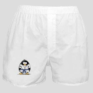 Martial Arts blue belt pengui Boxer Shorts
