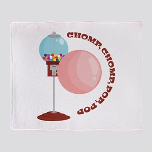 Chomp,Chomp,Pop,Pop Throw Blanket