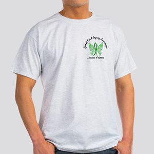 Spinal Cord Injury Butterfly 6.1 Light T-Shirt