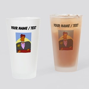 Custom Judge Drinking Glass