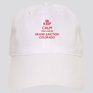 Keep calm you live in Grand Junction Colorado Cap